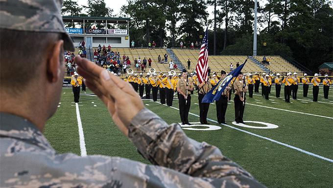 VHS honors military members