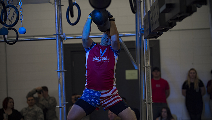 Airmen compete for Alpha Warrior title
